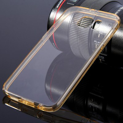 Mobile Phone Protective Acrylic Back Cover for Samsung Galaxy S6 G9200Samsung Cases/Covers<br>Mobile Phone Protective Acrylic Back Cover for Samsung Galaxy S6 G9200<br><br>Compatible for Sumsung: Galaxy S6 G9200<br>Characteristic: Dual camera holes; Transperant main body<br>Features: Back Cover, Button Protector, Anti-knock, Dirt-resistant, Bumper Frame<br>Material: Acrylic, Rubber<br>Style: Novelty, Transparent, Modern, Cool<br>Functions: Camera Hole Location<br>Product weight: 0.015 kg<br>Package weight: 0.030 kg<br>Product size (L x W x H) : 14.50 x 7.40 x 0.90 cm / 5.70 x 2.91 x 0.35 inches<br>Package size (L x W x H): 15.50 x 8.50 x 2.00 cm / 6.09 x 3.34 x 0.79 inches<br>Package Contents: 1 x Back Cover for S6 G9200