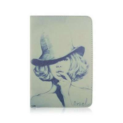 Гаджет   Painted Beauty Design Pad Cover PU Case Skin with Stand Function for iPad 3 iPad Cases/Covers