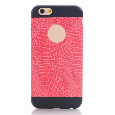 ФОТО Crocodile Pattern Design TPU Material Protective Back Cover Case for iPhone 6