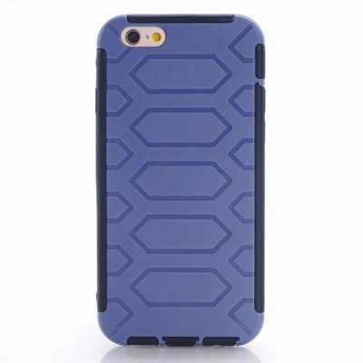 Фотография Tire Pattern Design TPU and PC Material Detachable Protective Back Cover Case for iPhone 6