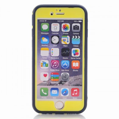 Фотография Tire Pattern Design TPU and PC Material Detachable Protective Back Cover Case for iPhone 6 Plus