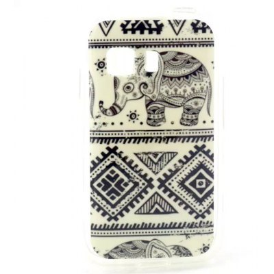 Practical TPU Elephant Pattern Phone Back Cover Case for Samsung Galaxy Young 2 G130