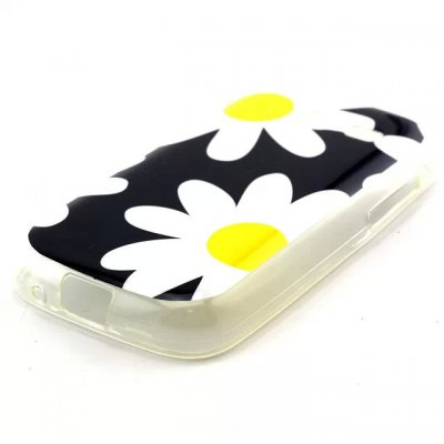 ФОТО Practical TPU Flowers Pattern Phone Back Cover Case for Samsung Galaxy Pocket 2 G110