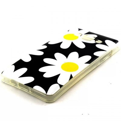 ФОТО Practical TPU Flowers Pattern Phone Back Cover Case for Samsung Galaxy A5 A5000