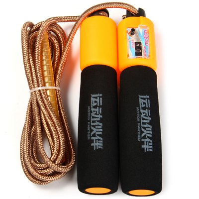 Гаджет   Motion Partner MP171 Adjustable 9 Feet Jump Rope Fitness Equipment with LCD Counter Exercise Equipments