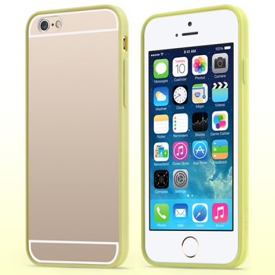 ФОТО 100PCS USAMS Edge Color Series Transparent PC and TPU Material Protective Cover Case for iPhone 6 4.7 inch Screen