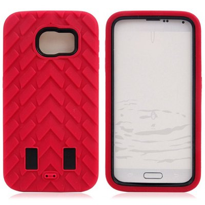 20PCS PC and Silicone Material Tyre Texture Design Back Cover Case for Samsung Galaxy S6 G9200Samsung Cases/Covers<br>20PCS PC and Silicone Material Tyre Texture Design Back Cover Case for Samsung Galaxy S6 G9200<br><br>Compatible for Sumsung: Galaxy S6 G9200<br>Features: Back Cover<br>Material: Silicone, Plastic<br>Style: Novelty<br>Color: Black, Red, Blue, Purple, Rose<br>Product weight: 1.300 kg<br>Package weight: 1.350 kg<br>Product size (L x W x H) : 20 x 16 x 8 cm / 7.86 x 6.29 x 3.14 inches<br>Package size (L x W x H): 21 x 17 x 9 cm / 8.25 x 6.68 x 3.54 inches<br>Package Contents: 20 x Case