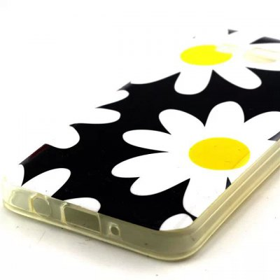 ФОТО Practical TPU Flowers Pattern Phone Back Cover Case for Samsung Galaxy A3 A3000
