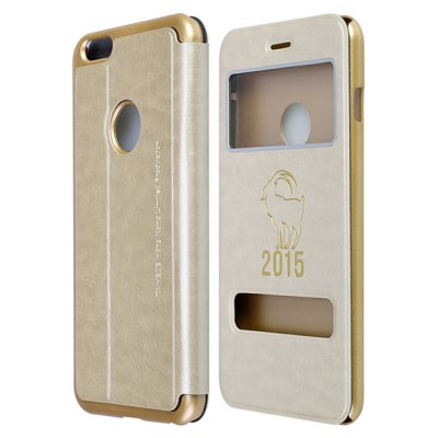 Sheep Pattern Leather Case for iPhone 6