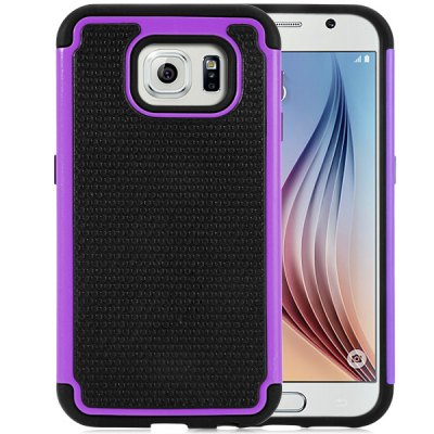 Гаджет   20PCS Practical Football Texture Detachable Silicone and PC Back Case Cover for Samsung Galaxy S6 G9200 Samsung Cases/Covers