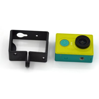 Fixed Plastic Frame Mount for Xiaomi Yi Sports Camera Stand - alone Version with Mounting Base Screw