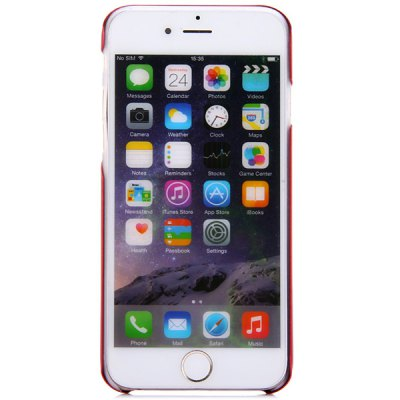 Фотография KINSTON Detachable Aluminium Alloy and PC Material Frosted Back Cover Case for iPhone 6  -  4.7 inch