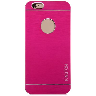 Гаджет   KINSTON Aluminium Alloy Material Logo Hole Phone Back Cover Case for iPhone 6  -  4.7 inch iPhone Cases/Covers