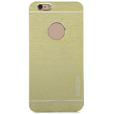 KINSTON Aluminium Alloy Material Logo Hole Phone Back Cover Case for iPhone 6  -  4.7 inch