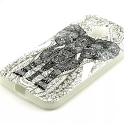 Гаджет   Practical TPU Elephant Pattern Phone Back Cover Case for Motorola Moto G LTE XT1079 Other Cases/Covers