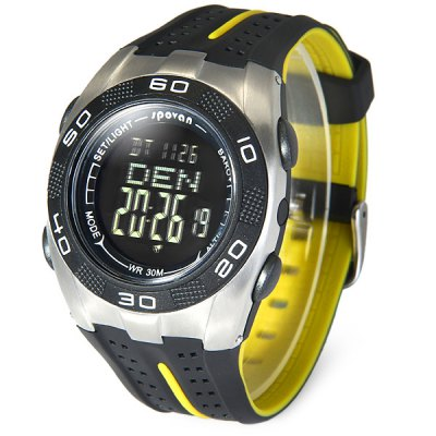 ФОТО Spovan Blade - V Outdoors Sports LED Blade Watch Water Resistance Thermometer Altimeter Wristwatch