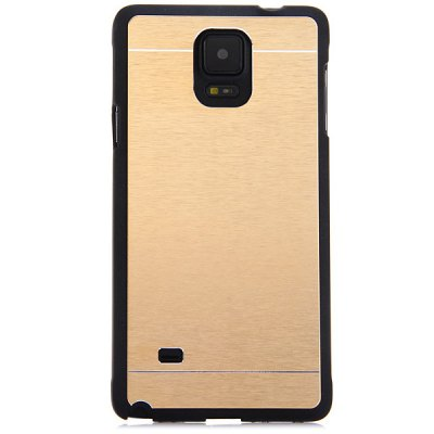 ФОТО Fashionable Aluminium Alloy Material Phone Back Cover Case for Samsung Galaxy Note 4 N9100