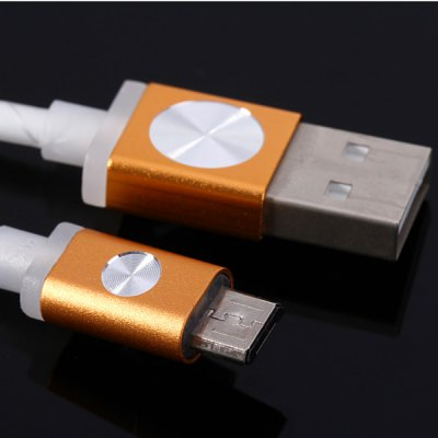 Гаджет   Portable 1m Round Cable Micro USB Interface Charge and Data Transfer Cable Samsung Chargers