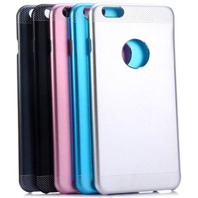 Фотография KINSTON Detachable Aluminium Alloy and PC Material Frosted Back Cover Case for iPhone 6 Plus  -  5.5 inch