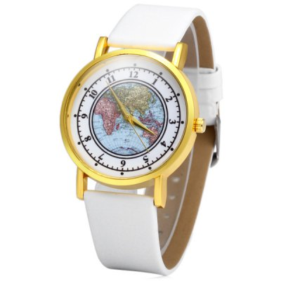 Geneva Map Pattern Female Golden Case Quartz Watch with Leather StrapWomens Watches<br>Geneva Map Pattern Female Golden Case Quartz Watch with Leather Strap<br><br>Brand: Geneva<br>Watches categories: Female table<br>Available color: Red, Brown, Black, White<br>Style : Fashion&amp;Casual<br>Movement type: Quartz watch<br>Shape of the dial: Round<br>Display type: Analog<br>Case material: Alloy<br>Case color: Gold<br>Band material: Leather<br>Clasp type: Pin buckle<br>The dial thickness: 0.8 cm / 0.31 inches<br>The dial diameter: 3.8 cm / 1.49 inches<br>The band width: 1.8 cm / 0.71 inches<br>Product weight: 0.030 kg<br>Package weight: 0.08 kg<br>Product size (L x W x H) : 24.5 x 3.8 x 0.8 cm / 9.63 x 1.49 x 0.31 inches<br>Package size (L x W x H): 25.5 x 4.8 x 1.8 cm / 10.02 x 1.89 x 0.71 inches<br>Package contents: 1 x Geneva Watch