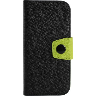 Гаджет   Magnetic Flip Card Holder Contrast Color Leather Full Body Case for HTC One M9 Other Cases/Covers