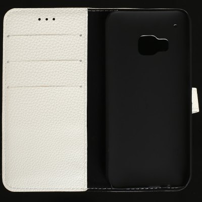 Гаджет   Magnetic Flip Card Holder Lichee Leather Full Body Case for HTC One M9 Other Cases/Covers