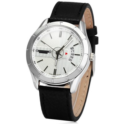 Julius 084 Date Function Male Contracted Quartz Watch with Genuine Leather BandMens Watches<br>Julius 084 Date Function Male Contracted Quartz Watch with Genuine Leather Band<br><br>Brand: Julius<br>Watches categories: Male table<br>Watch style: Business<br>Available color: Black, White, Green<br>Movement type: Quartz watch<br>Shape of the dial: Round<br>Display type: Analog<br>Case material: Stainless steel<br>Band material: Genuine leather<br>Clasp type: Pin buckle<br>Special features: Date<br>The dial thickness: 0.8 cm / 0.31 inches<br>The dial diameter: 4.0 cm / 1.57 inches<br>The band width: 1.9 cm / 0.75 inches<br>Product weight: 0.051 kg<br>Package weight: 0.101 kg<br>Product size (L x W x H): 25.4 x 4 x 0.8 cm / 9.98 x 1.57 x 0.31 inches<br>Package size (L x W x H): 26.4 x 5 x 1.8 cm / 10.38 x 1.97 x 0.71 inches<br>Package Contents: 1 x Julius 084 Watch