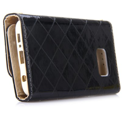 Snap Design Card Holder Haversack Style Leather Full Body Case for Samsung Galaxy S6Samsung Cases/Covers<br>Snap Design Card Holder Haversack Style Leather Full Body Case for Samsung Galaxy S6<br><br>Compatible for Sumsung: Galaxy S6 G9200<br>Features: Full Body Cases, Cases with Stand, With Credit Card Holder, Anti-knock, Dirt-resistant<br>Material: Silicone, PU Leather<br>Style: Solid Color, Novelty<br>Color: White, Pink, Beige, Black<br>Product weight: 0.125 kg<br>Package weight: 0.200 kg<br>Product size (L x W x H) : 15 x 8 x 2 cm / 5.90 x 3.14 x 0.79 inches<br>Package size (L x W x H): 16 x 9 x 3 cm / 6.29 x 3.54 x 1.18 inches<br>Package Contents: 1 x Case, 1 x Chain