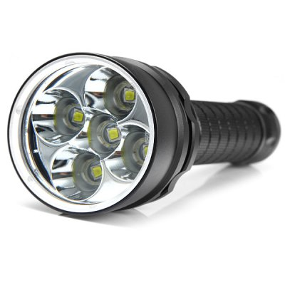 4000LM 5 Cree XML L2 Waterproof LED Flashlight with Magnetic Switch ( 2 x 18650 Battery )