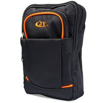JY931 Multi - purpose Waist Bag Phone Coin Shoulder Pack Outdoor Hiking Fishing NecessaryWaistpacks<br>JY931 Multi - purpose Waist Bag Phone Coin Shoulder Pack Outdoor Hiking Fishing Necessary<br><br>Type: Waist Bag<br>For: Climbing, Cycling, Travel, Adventure, Hiking, Camping, Fishing<br>Material: Polyester<br>Color: Blue, Rose, Orange, Yellow, Black, Red<br>Product weight   : 0.174 kg<br>Package weight   : 0.240 kg<br>Product size (L x W x H)   : 15 x 4 x 21.5 cm / 5.90 x 1.57 x 8.45 inches<br>Package size (L x W x H)  : 16 x 5 x 23 cm / 6.29 x 1.97 x 9.04 inches<br>Package Contents: 1 x Waist Bag, 1 x Strap