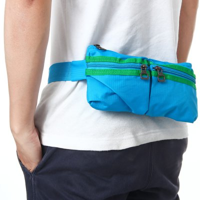 JY811 Durable Waist Bag Phone Coin Pack Outdoor Hiking Fishing NecessaryWaistpacks<br>JY811 Durable Waist Bag Phone Coin Pack Outdoor Hiking Fishing Necessary<br><br>Type: Belt Bag<br>For: Climbing, Cycling, Travel, Adventure, Hiking, Camping, Fishing<br>Material: Polyester<br>Color: Orange, Army Green, Black, Blue, Green<br>Product weight   : 0.116 kg<br>Package weight   : 0.170 kg<br>Product size (L x W x H)   : 26 x 3 x 14 cm / 10.22 x 1.18 x 5.50 inches<br>Package size (L x W x H)  : 27 x 4 x 15 cm / 10.61 x 1.57 x 5.90 inches<br>Package Contents: 1 x Waist Bag