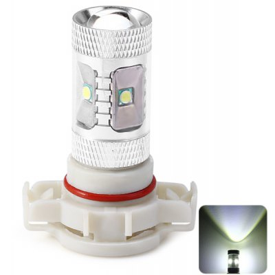 H16 30W 1000lm White Light 6 CREE LEDs Car Head Light