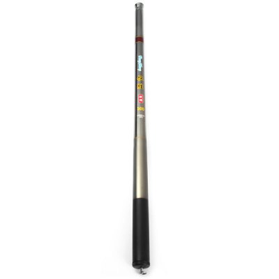 HengSheng Portable 3m Telescopic Fishing Rod Pole Stick Carbonrod for Fisher AnglerFishing Reels and Rods<br>HengSheng Portable 3m Telescopic Fishing Rod Pole Stick Carbonrod for Fisher Angler<br><br>Fishing Method: Freshwater Fishing, Sea Fishing<br>Material: Carbon<br>Features: Telescopic<br>Full Length (cm): 300 cm<br>Closed Length (cm): 38.8 cm<br>Section (pieces): 9<br>Color: Gray<br>Top Diameter (mm): 2 mm<br>Bottom Diameter (mm): 19 mm<br>Product weight: 0.068 kg<br>Package weight: 0.140 kg<br>Product size (L x W x H): 38.8 x 1.9 x 19 cm / 15.25 x 0.75 x 7.47 inches<br>Package size (L x W x H): 44 x 6 x 4 cm / 17.29 x 2.36 x 1.57 inches<br>Package Contents: 1 x HengSheng Fishing Rod, 1 x Bag