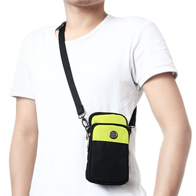 Гаджет   JY914 Multi - purpose Waist Bag Phone Coin Shoulder Pack Outdoor Hiking Fishing Necessary Waistpacks