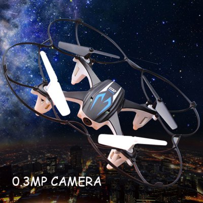 MoonTop 9916 (MT 9916) 2.4GHz, 4Ch, 6 Axis Gyro, RC Quadcopter with 0.3MP Camera (RTF)