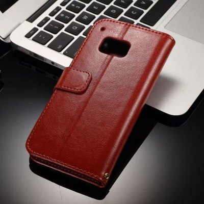 Гаджет   Card Holder Stand Design PU Leather Protective Cover Case for HTC One M9 Other Cases/Covers
