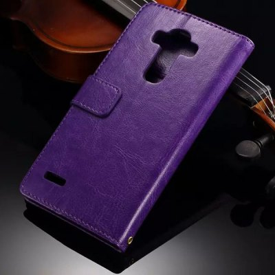 ФОТО Card Holder Stand Design PU Leather Protective Cover Case for LG G4