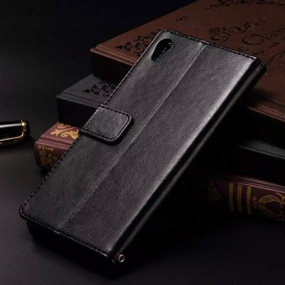 Гаджет   Card Holder Stand Design PU Leather Protective Cover Case for Sony Xperia Z4 Other Cases/Covers