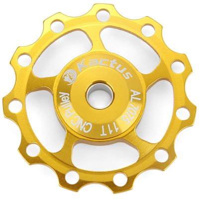 Фотография Kactus CNC 11T Guide Roller Wheel Rear Derailleur Pulley Alluminum Alloy Bicycle Parts for SHIMANO SRAM / 7 / 8 / 9 / 10 Speed