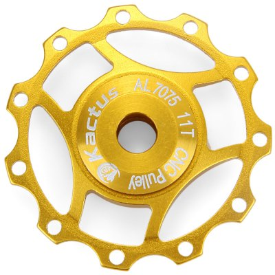 Фотография Kactus A10 CNC 11T Guide Roller Wheel Rear Derailleur Pulley with Alluminum Alloy Material for SHIMANO SRAM / 7 / 8 / 9 / 10 Speed