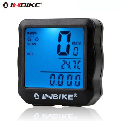 Фотография INBIKE 528 Noctilucent Wired Bicycle Computer Water Resistant MTB Road Bike Accessories