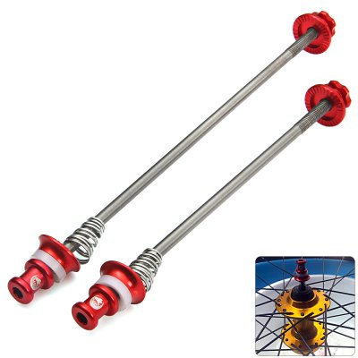 Kactus Road Bike MTB Quick Release QR Skewer CNC Titanium Axle Set