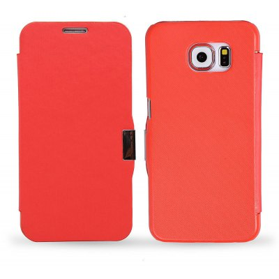 Magnetic Snap Flip PU Leather Cover Case for Samsung Galaxy S6 G9200