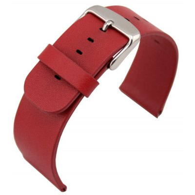 Classic Genuine Leather Watch Band Strap Stainless Steel Clasp for Apple Watch 42mm