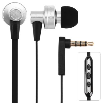 Awei ES  -  90vi 1.2m Cable In - ear Earphone with Mic Volume Control