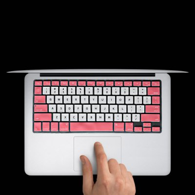 Dual Color Protective Silicone Keyboard Cover for 13 15 inch MacBook