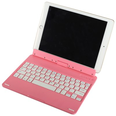 2 - in - 1 Rotatable Wireless Bluetooth Keyboard / Display Stand Built - in Lithium Battery for iPad Air