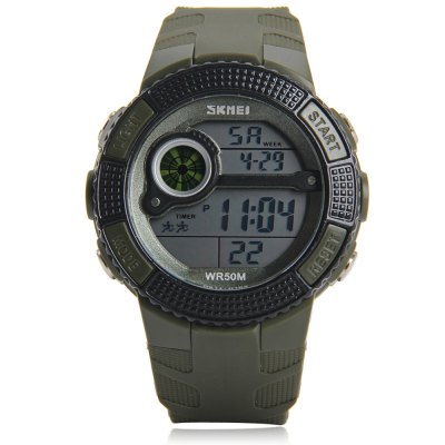 Фотография Skmei 1027 LED Sports Military Watch 50M Water Resistant