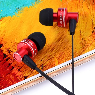 Фотография Awei ES  -  900i 1.2m Flat Cable Design In - ear Earphone with Mic for Smartphone Tablet PC