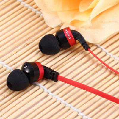 Фотография Awei ES  -  13i 1.2m Flat Cable Design In - ear Earphone with Mic for Smartphone Tablet PC